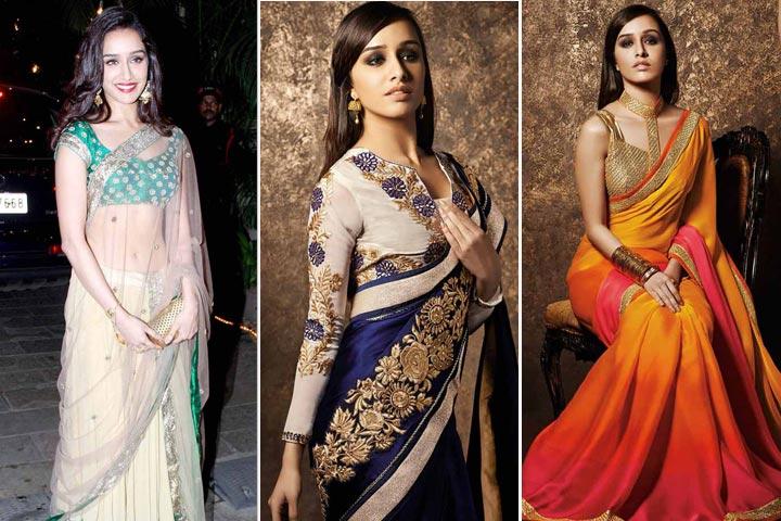 14 Amazing Pictures of Shraddha Kapoor in Saree