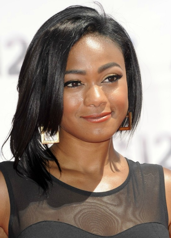 Tatyana Ali Medium Bob Haircut