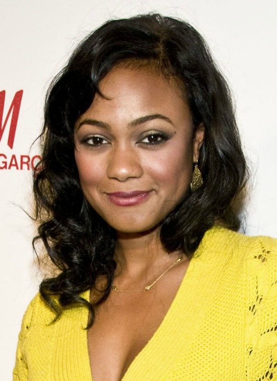 Tatyana Ali Medium Curly Hairstyle