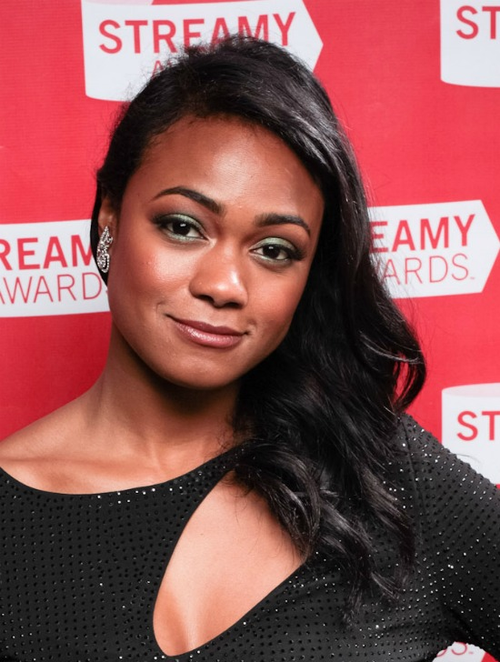 Tatyana Ali Medium Layered Hairstyle