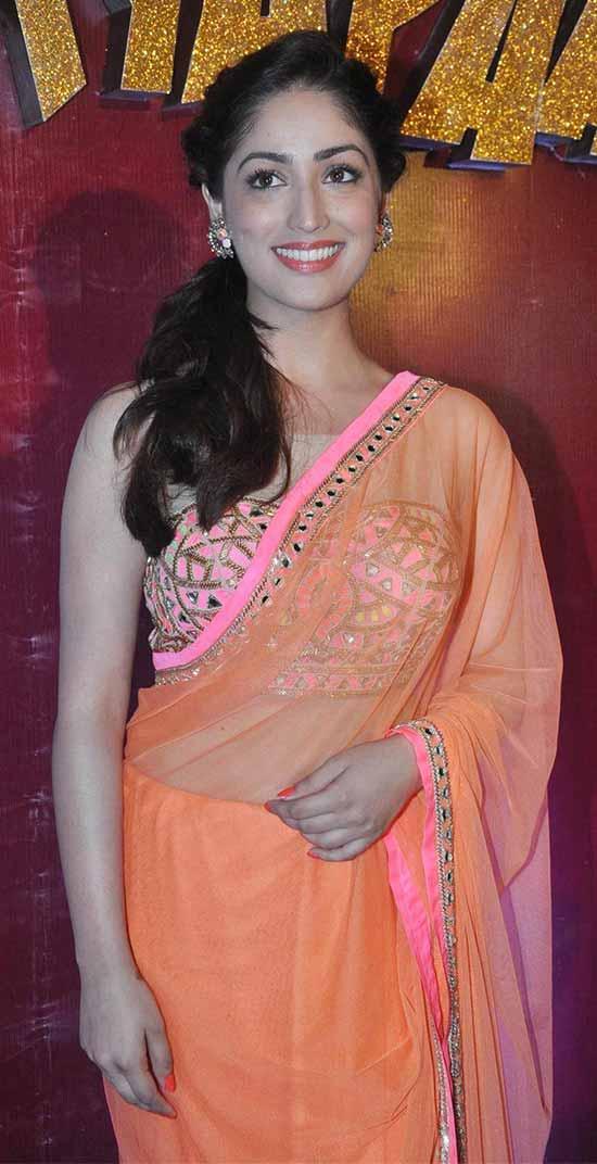 Yami-Gautam-In-Arpita-Mehta-Saree