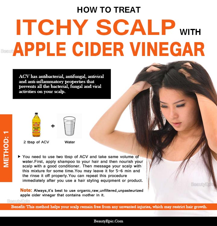 How To Use Apple Cider Vinegar Acv For Dry Itchy Scalp