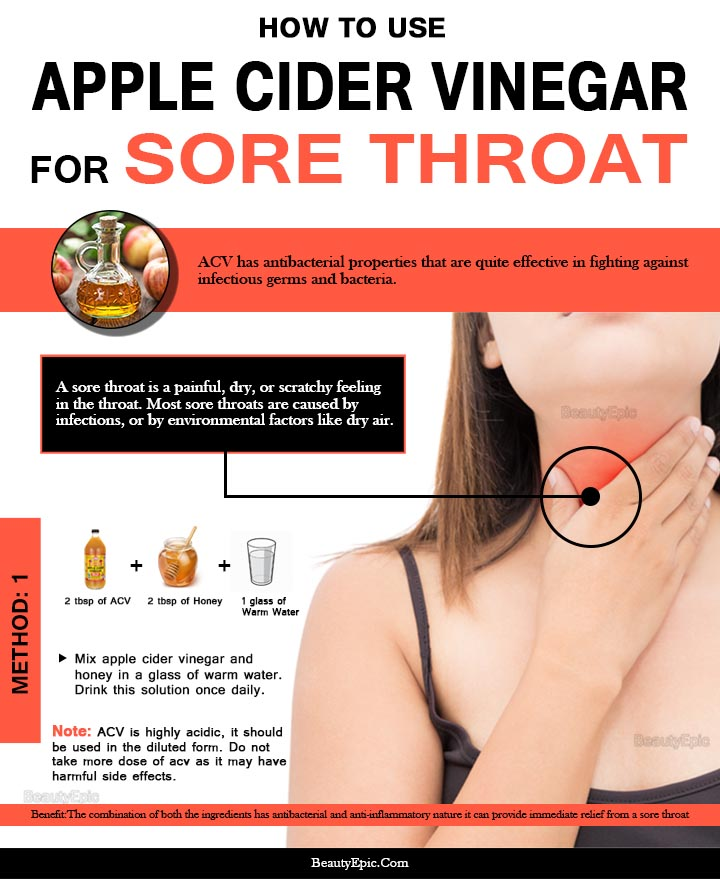 How  to Use Apple Cider Vinegar for a Sore Throat