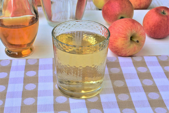 apple cider vinegar to lower high blood pressure