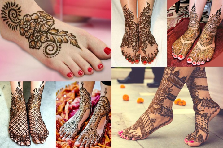 20 Inspired Foot Mehndi Designs for Your Beautiful Feet