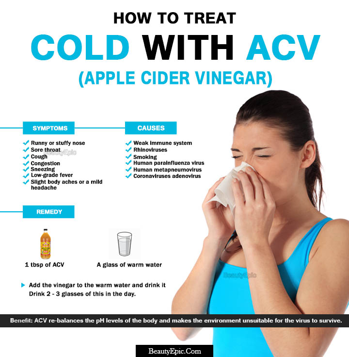 How to  Use Apple Cider Vinegar for Curing Colds Fast