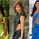 20 Most Beautiful Pics of Shruti Hassan in Saree