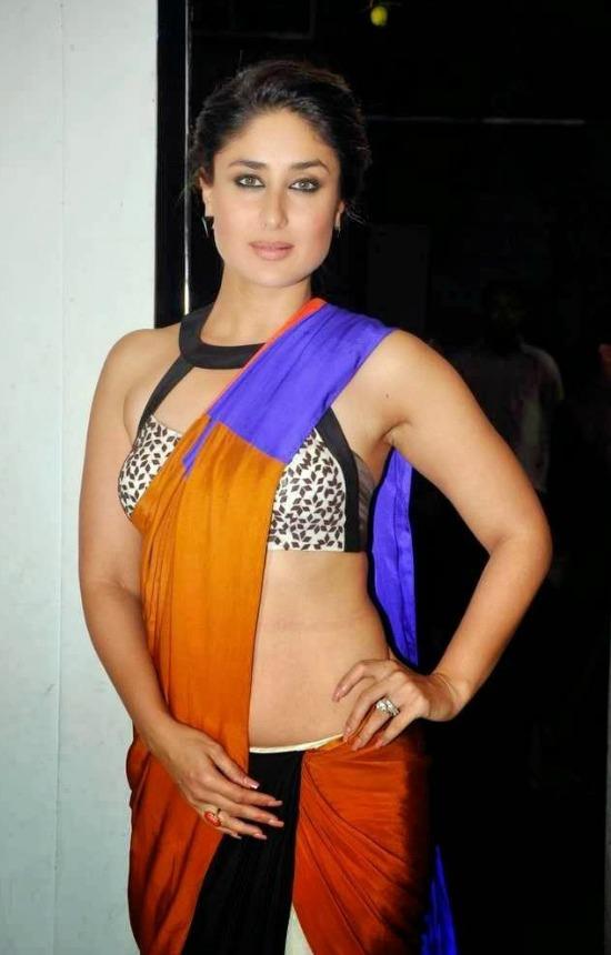 Kareena Kapoor In Multocolor Saree