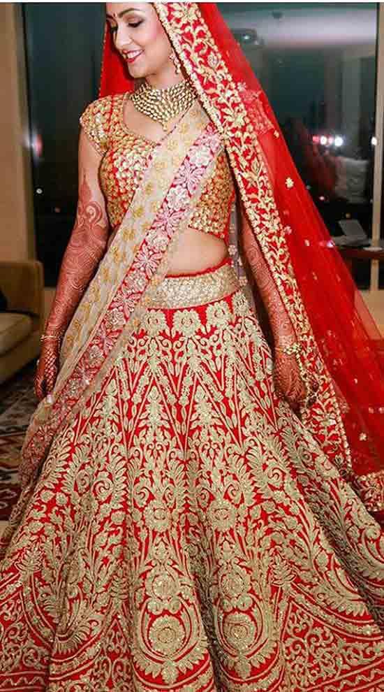 Designer Bridal Lehenga Online Shopping