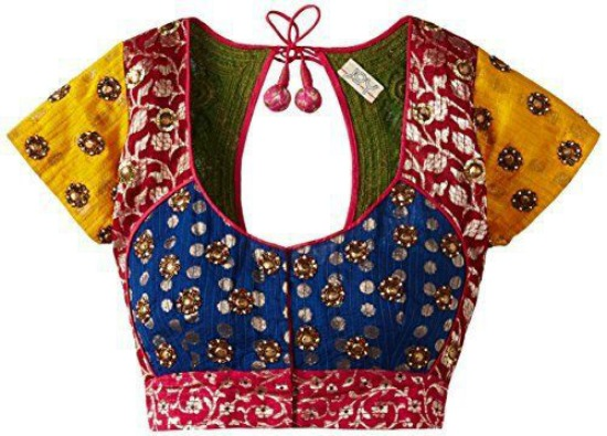 Multicolored Prince Cut Blouse