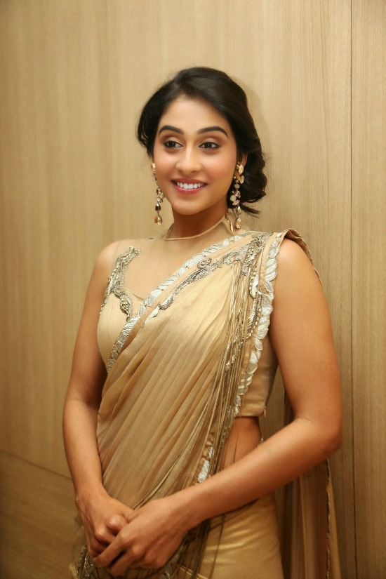 Regina Cassandra Gold Beads Attached Designer Blouse