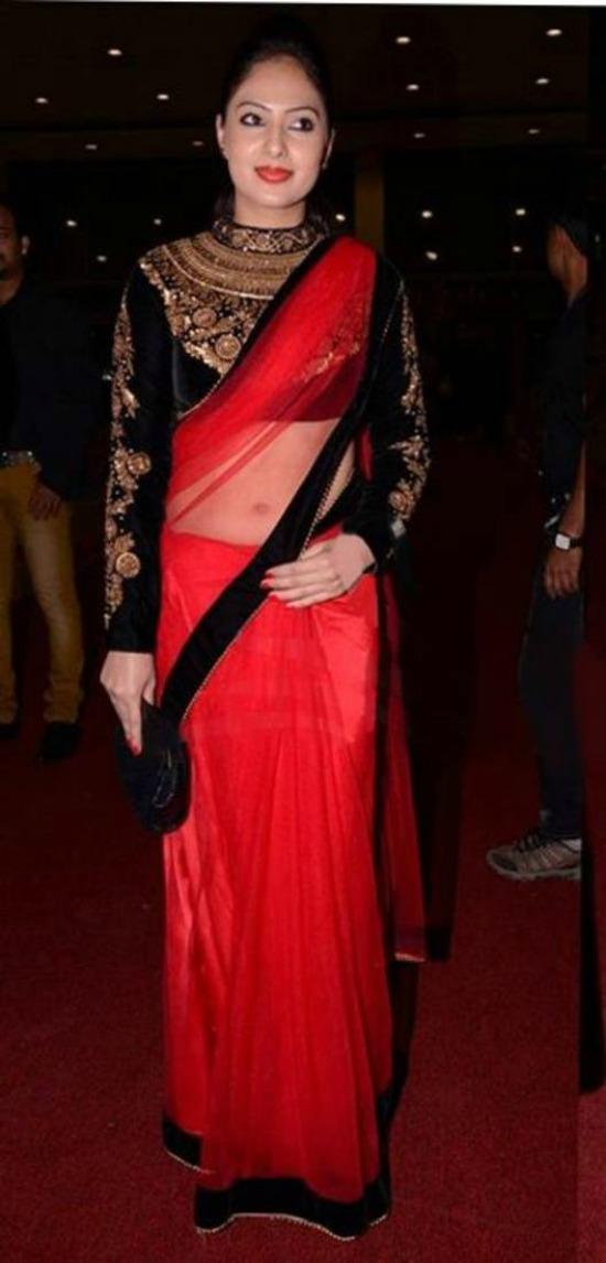 Full Sleeve Maharani Velvet Blouse With Embroidery Work