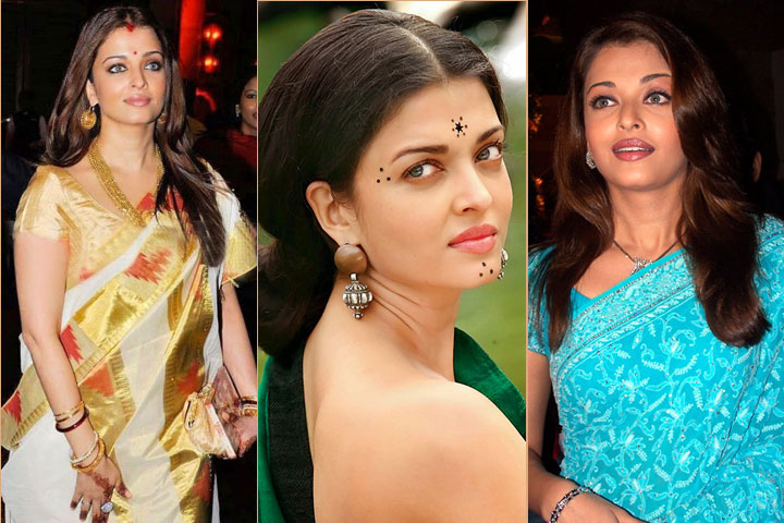 20 Awesome Pics of Aishawarya Rai in saree