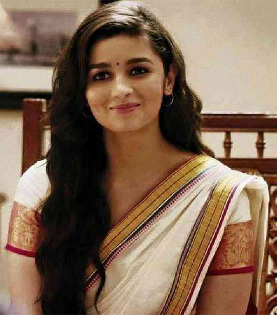 Alia-Bhatt-In-White-Saree