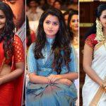 10 Awesome pics of Anupama parameswaran in saree