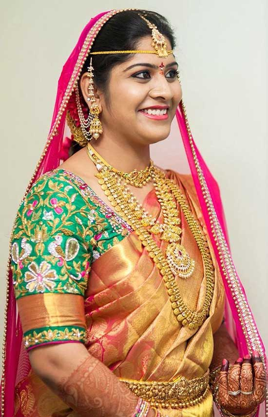 Bridal-saree-blouse-embroidery