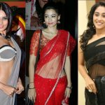 22 Gorgeous Celebrity Low Waist Sarees