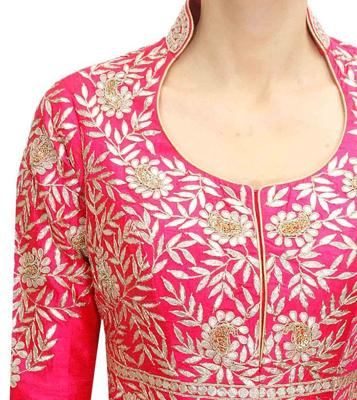 Top 50 Stylish And Trendy Kurti Neck Designs That Will Make You Look All The More Graceful