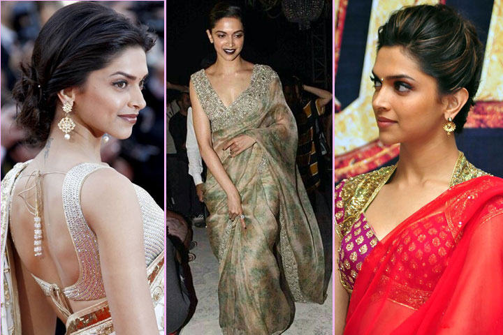 20 Crazy Pics of Deepika Padukone In Saree