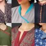 Top 35 Stylish And Trendy Kurti Neck Designs That Will Make You Look All The More Graceful