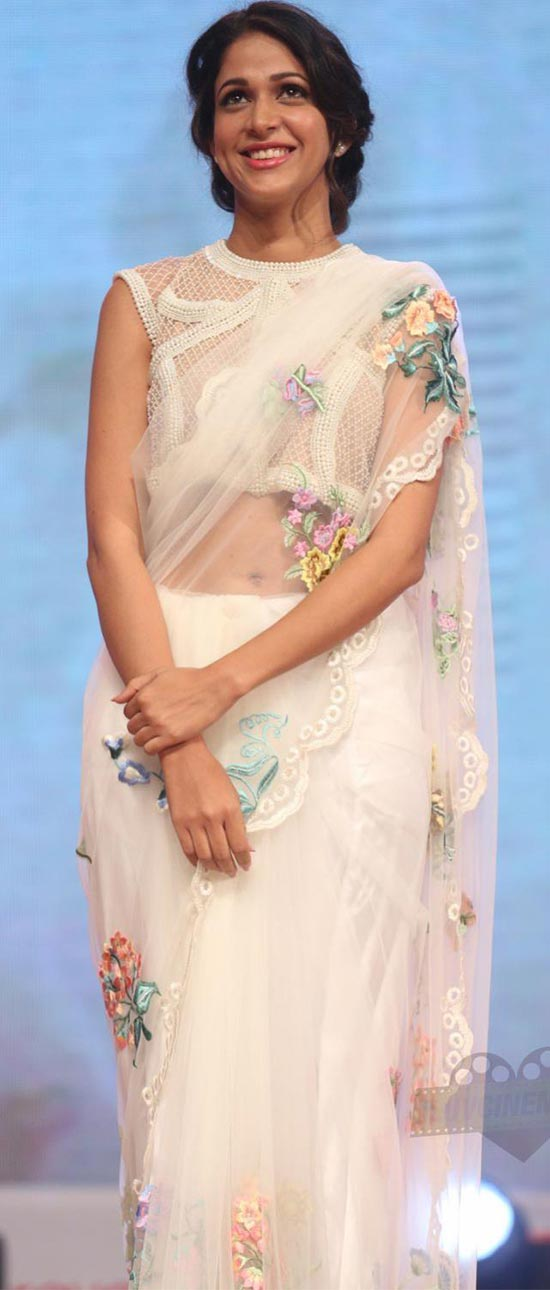 Lavanya-Tripathi-White Transparent