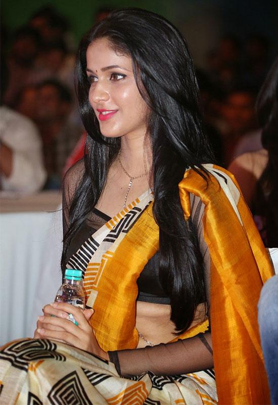 Lavanya-Tripathi-Yellow-Saree