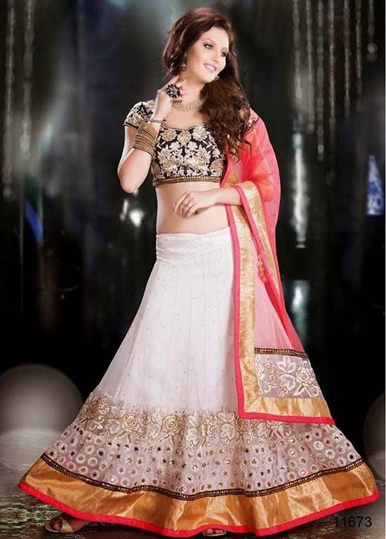 Part wear Lehanga Choli