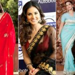 9 Amazing pics of Sunny Leone in Saree