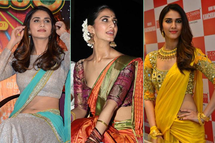 9 Gorgeous Pics of Vaani Kapoor in  Saree
