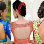 20 Beautiful Back Hook Blouse Designs
