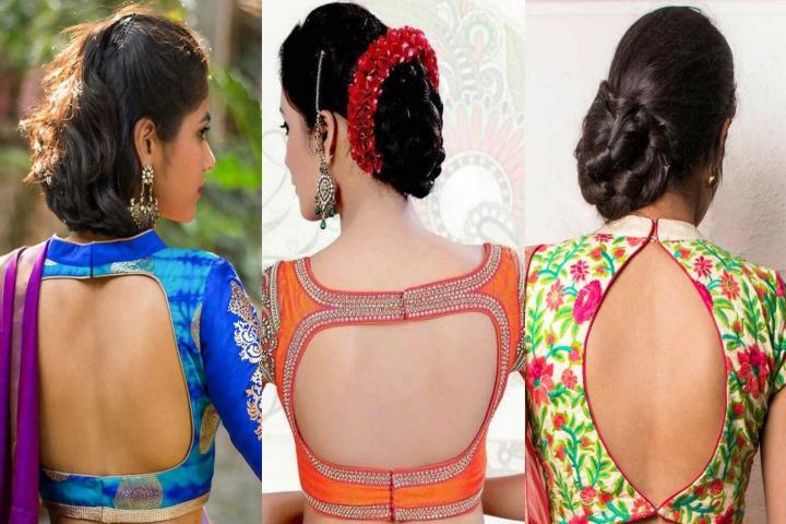 20 Beautiful Back Hook Blouse Designs