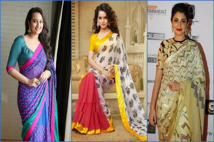 Top 20 Bollywood Actress in sarees