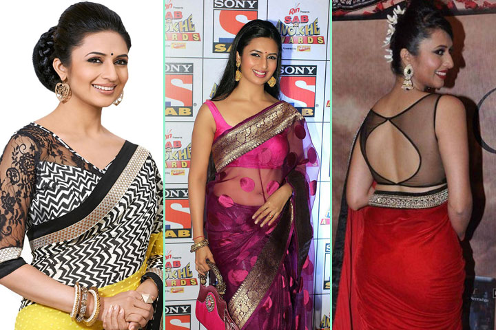 18 Awesome Pics Of Divyanka Tripathi In Saree
