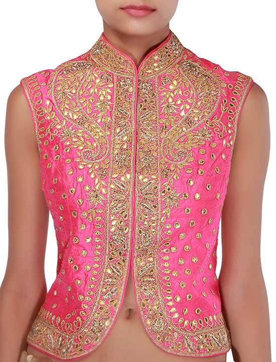 Pink Peter Pan Collar Blouse
