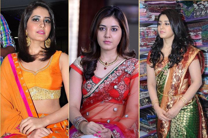 15 Trendy Pics of Rashi Khanna in Saree