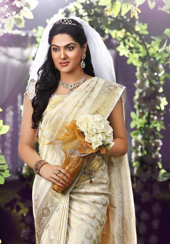 Traditional Christian Wedding Saree