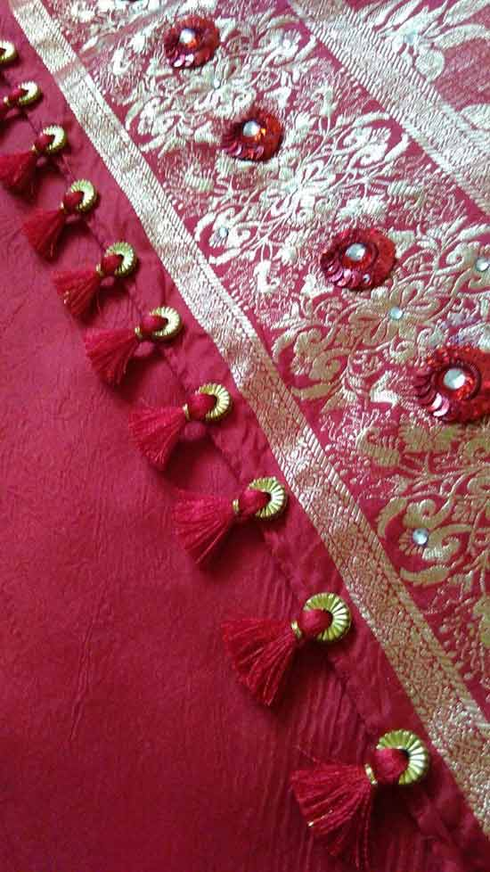 Beautiful Saree Kuchu Designs With Beads Guide