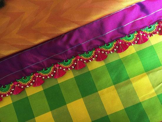 Threads Kuchu with Small Beads