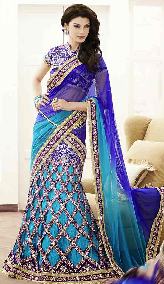 Harmonious Cut Style Lehenga Saree cum Ready to wear Saree