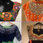 23 Best Pics of Rajasthani Mirror Work Blouse Designs