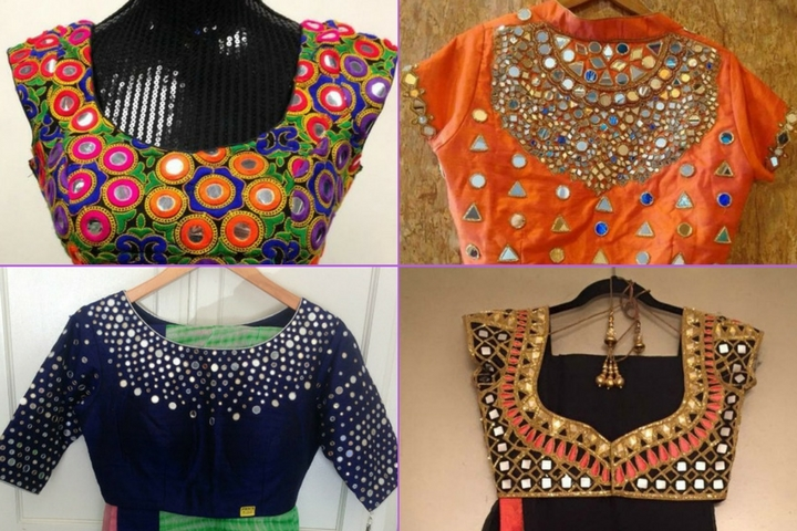Best Pics Rajasthani Mirror Work Blouse Designs