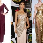 20 Gorgeous Pics of  Saree Gown Designs