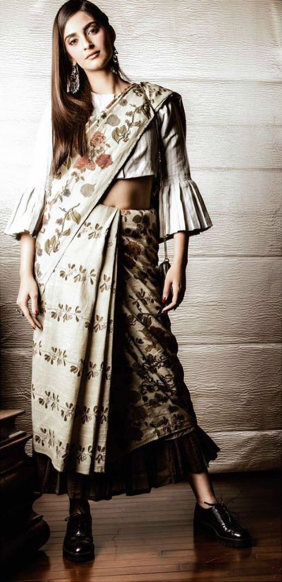 Sonam Kapoor Wears Anavilla for House of Pixels Shoot