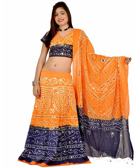 Stunning Chaniya Choli Designs For Navratri Festival