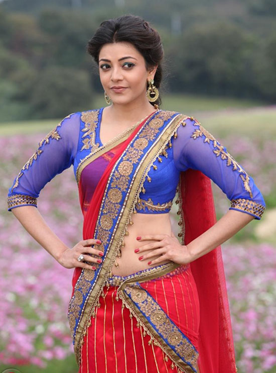kajal in three fouth sleeve