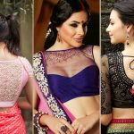 25 Graceful Pics of Net Blouse Designs