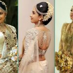 14 Gorgeous Pics of sri lankan wedding saree blouse designs