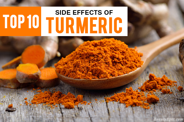 10 Serious Side Effects of Turmeric You Must Know