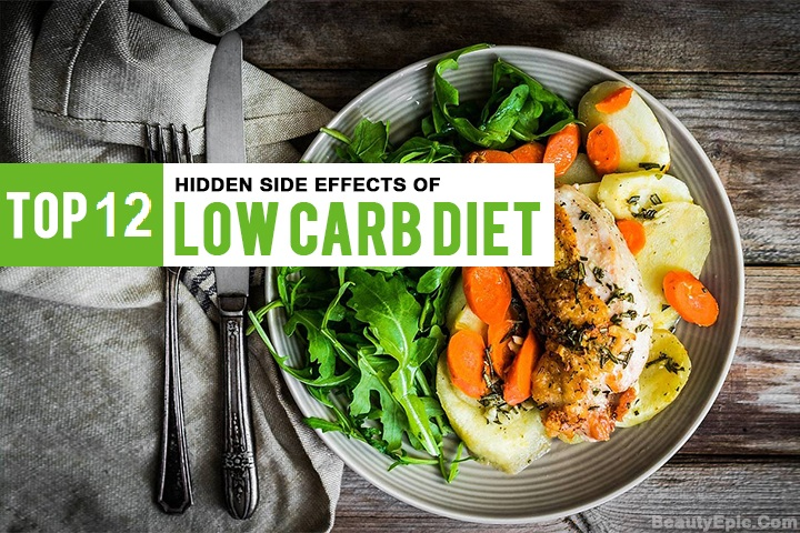 12 Side Effects of Low Carb Diet Need To Know About