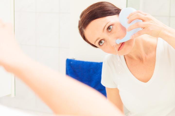 oregano oil sinus infection neti pot